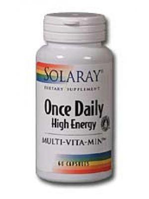 Solaray Once Daily High Energy Multi Vitamin 60 Caps