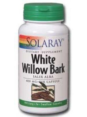 Solaray White Willow Bark 400mg 100 Caps
