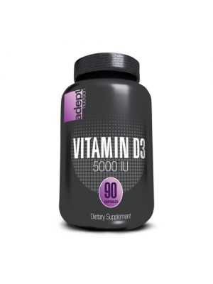 Adept Nutrition High Potency Vitamin D3 5000IU