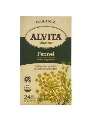 Alvita Fennel Seed Tea Organic 24 Bags