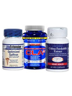 forskolin cla saffron extract stack