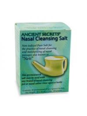 Ancient Secrets Nasal Cleansing Salt 40 Packets