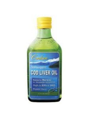 Carlson Norwegian Cod Liver Oil Regular Flavor 250mL