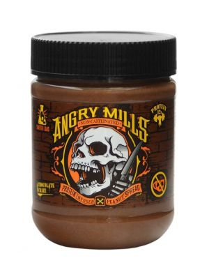 Angry Mills Caffeinated Protein Infused Almond Spread Chocolate Chaos
