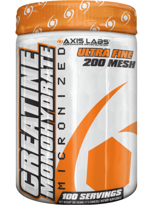 Axis Labs Micronized Creatine Monohydrate  500 grams