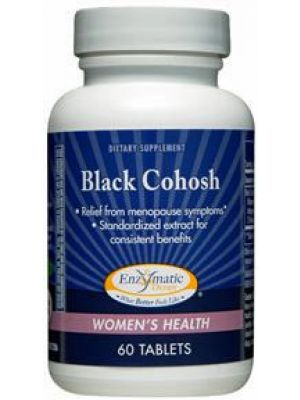 Enzymatic Therapy Black Cohosh 60 Tabs