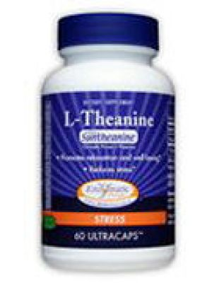 Enzymatic Therapy L-Theanine 100mg 60 Caps