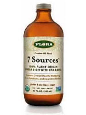Flora (Udo's Choice) 7 Sources Oil 17 Fl Oz
