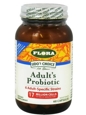Flora Udos Choice Adult's Probiotic 60 caps