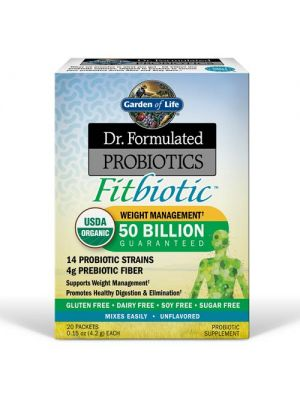 Garden of Life Dr. Formulated Probiotics Fitbiotic 20 Packets