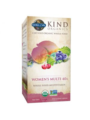 Garden of Life Kind Organics Women's Multi 40+ 120 Tabs