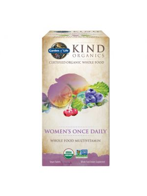 Garden of Life Kind Organics Women's Once Daily 60 Tabs