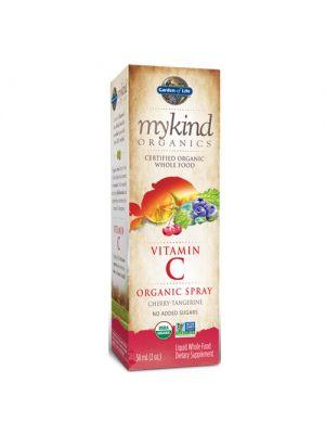 Garden of Life Kind Organics Organic C Cherry-Tangerine Spray 2 Oz