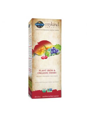 Garden of Life Kind Organics Plant Iron & Organic Herbs Cranberry-Lime 8oz