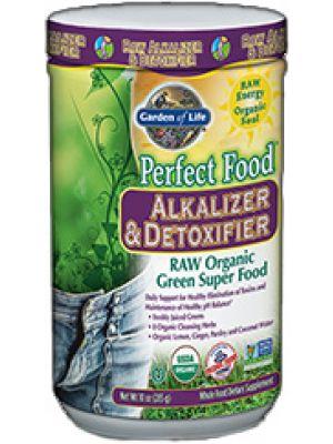Garden of Life Perfect Food Raw (Organic) Alkalizer & Detoxifier 285 Grams