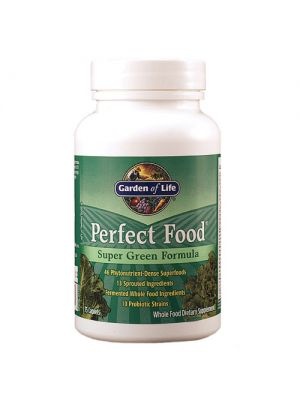 Garden of Life Perfect Food Super Green Formula 150 Caplets