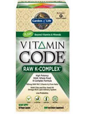Garden of Life Vitamin Code Raw K-Complex