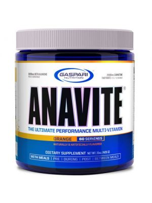 Gaspari Nutrition Anavite Powder Orange 60 Servings