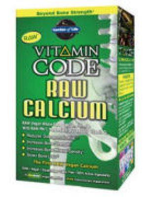 Garden of Life Vitamin Code Raw Calcium with AlgaeCal 60 Caps