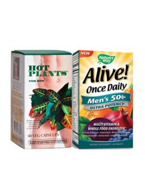 Hot Plants for Him + Alive 1 Daily Men 50+