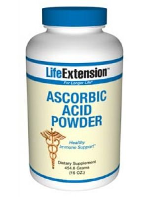 Life Extension Ascorbic Acid (vitamin C) 16oz
