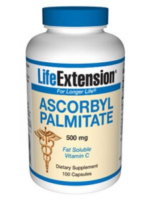 Life Extension Ascorbyl Palmitate 500mg 100 Caps