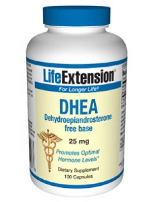 Life Extension DHEA (Dehydroepiandrosterone) 25mg 100 Caps