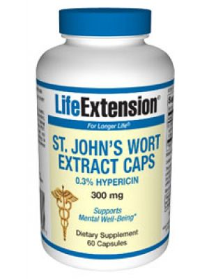 Life Extension St John's Wort Extract 300 mg 60 Caps