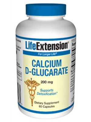 Life Extension Calcium D-Glucarate 200 mg 60 Caps