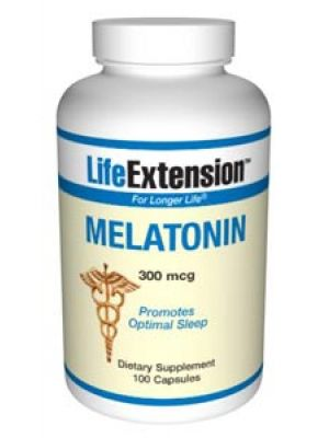 Life Extension Melatonin 300 mcg 100 Caps