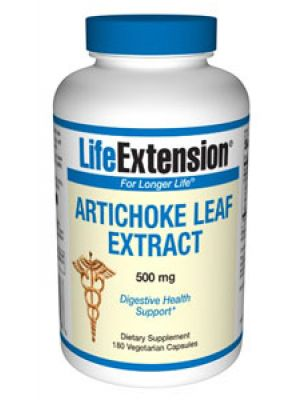 Life Extension Artichoke Leaf Extract 500mg 180 VC
