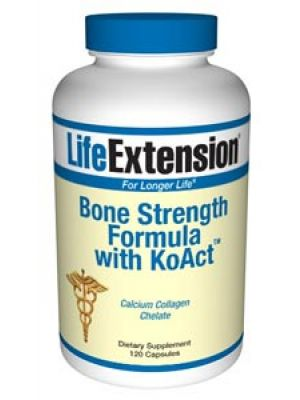 Life Extension Bone Strength Formula with KoACT 120 Caps