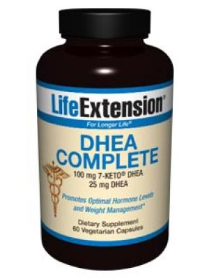 Life Extension DHEA Complete 60 Vegecaps