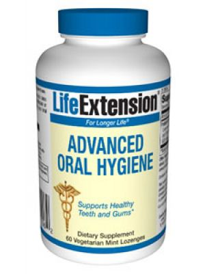 Life Extension Advanced Oral Hygiene 60 vegetarian mint Lozenges