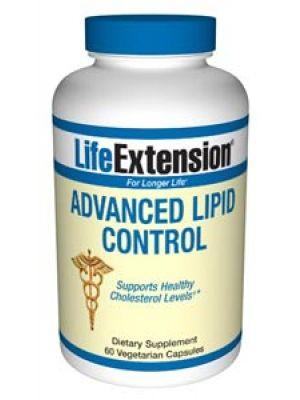 Life Extension Advanced Lipid Control  60 Vegecaps