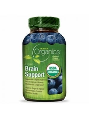 Irwin Naturals Organic Brain Support 60 Tabs