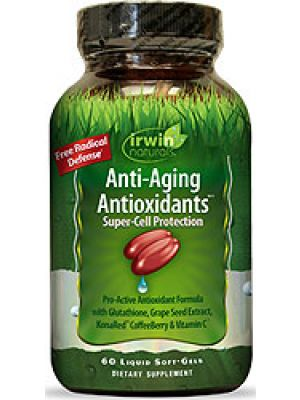 Irwin Naturals Anti-Aging Antioxidants 60 Liquid Soft Gels