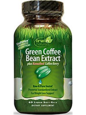 Irwin Naturals Green Coffee Bean Extract 60 Liquid Soft Gels