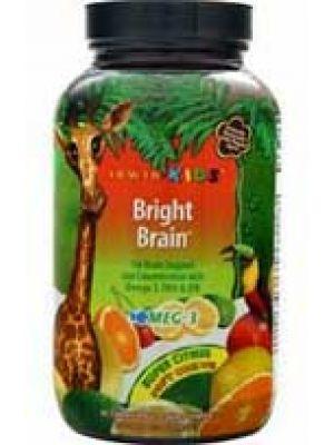 Irwin Naturals Kids Bright Brain Super Citrus 30 Chews