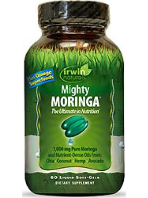 Irwin Naturals Mighty Moringa 60 Liquid Soft Gels