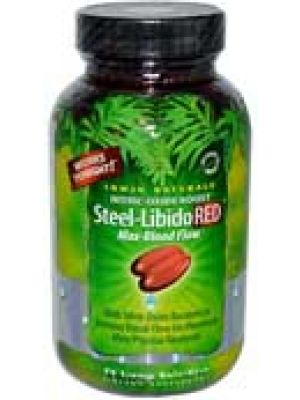 Irwin Naturals Steel Libido RED 150 Liquid Soft Gels