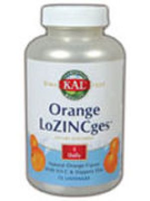 Kal Orange LoZINCges 75 Lozenges