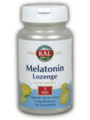 Kal Melatonin Lemon 5mg 60 Lozenges