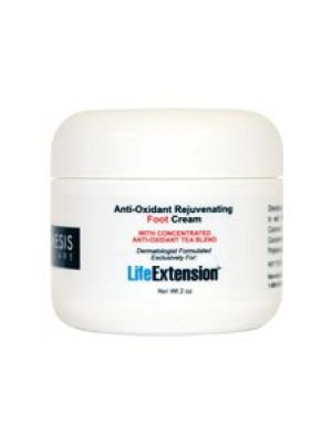 Life Extension Anti-Oxidant Rejuvenating Foot Cream 2 oz