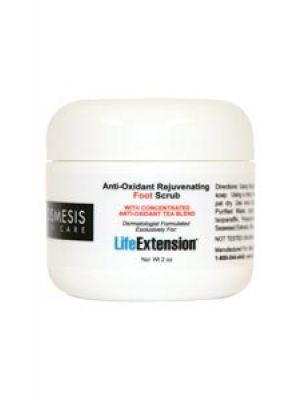 Life Extension Anti-Oxidant Rejuvenating Foot Scrub 2 oz