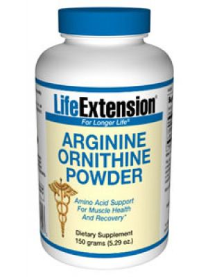 Life Extension Arginine Ornithine 150 grams