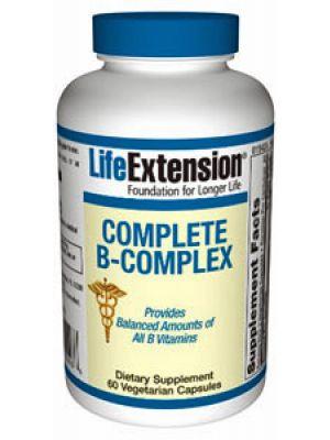 Life Extension Complete Vitamin B Complex 60 Vege Caps