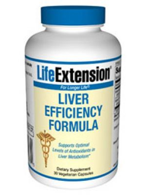 Life Extension Liver Efficiency Formula 30 Vege Caps