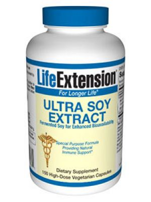 Life Extension Ultra Soy Extract 625mg 150 Caps