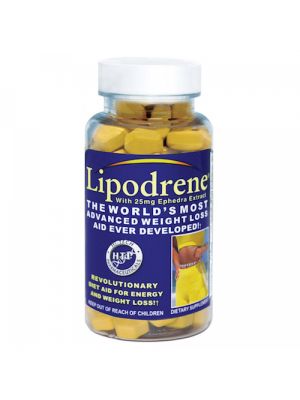 Hi-Tech Pharmaceuticals Lipodrene with Ephedra 100 Tabs